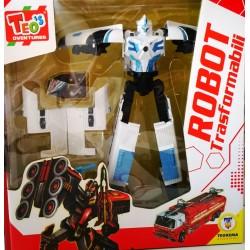 Robot Trasformabili - bianco